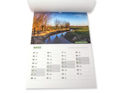 """Unser Niederrhein 2021 Wandkalender DIN A3 """"NATURE EDITION"""" inklusive Spende für Niederrheinprojekte 02 IMG_0234"""