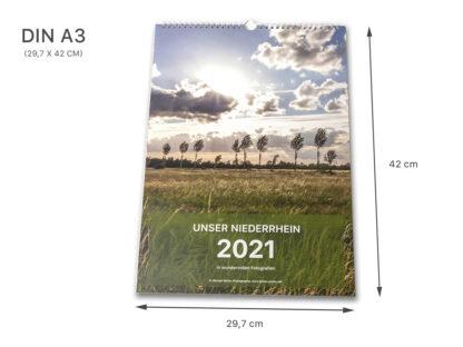 """Unser Niederrhein 2021 Wandkalender DIN A3 """"NATURE EDITION"""" inklusive Spende für Niederrheinprojekte 08 IMG_0235b"""